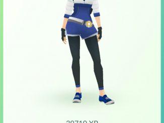 Moja postać w Pokemon Go